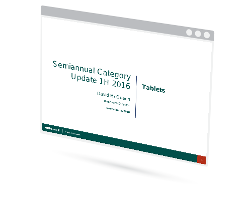 Tablets Semiannual Update 1H 2016 Image