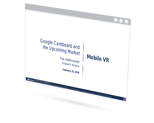 Mobile VR: Google Cardboard and the Upcoming Market Image