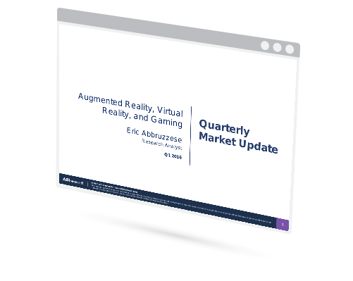 Augmented Reality, Virtual Reality, and Gaming:  Market Update Image