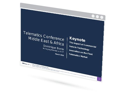 Telematics Conference: Middle East and Africa Image