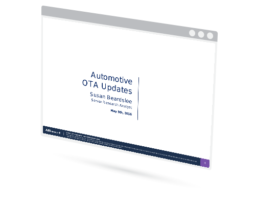 Webinar Over the Air Updates in Automotive Image