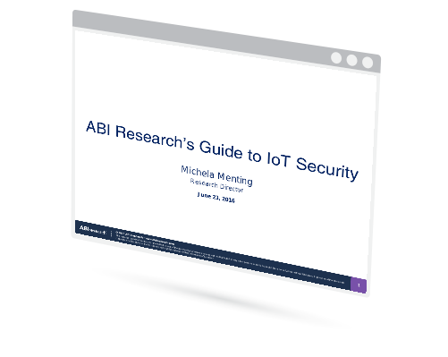 Webinar:  ABI Research's Guide to IoT Security Image