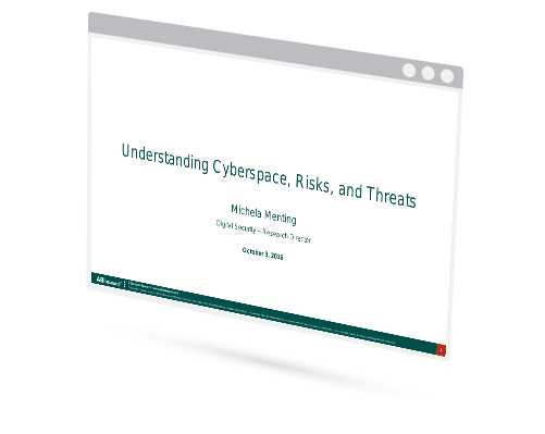 Understanding Cyber Space, Risks and Threats Image