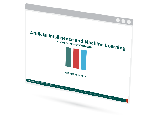 Artificial Intelligence & Machine Learning: Foundational Concepts Image