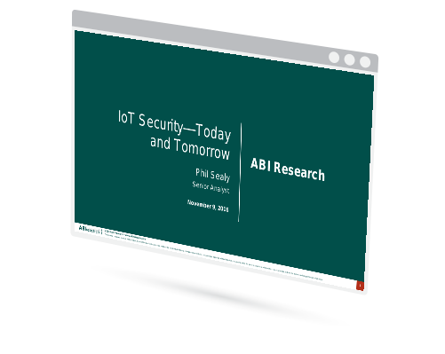 IoT Security–Today and Tomorrow Image
