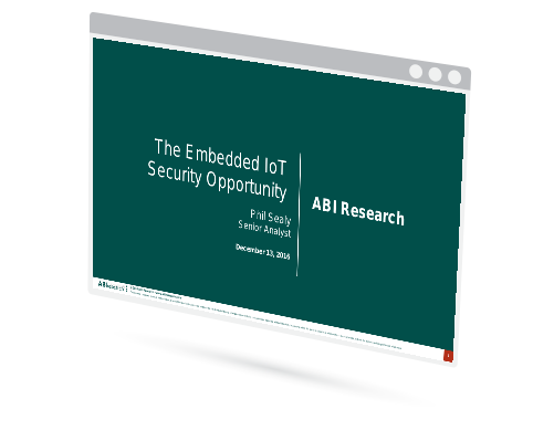 The Embedded IoT Security Opportunity Image