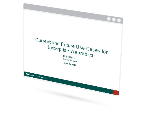 Current and Future Use Cases for Enterprise Wearables Image
