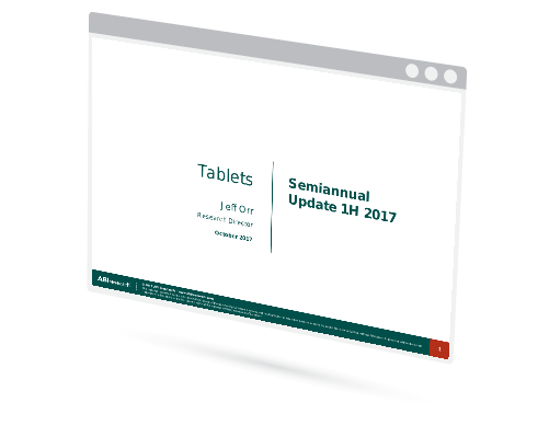 Tablets Semiannual Update for 1H 2017 Image