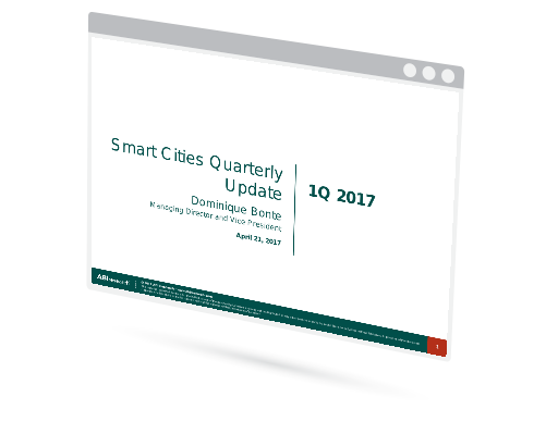 Smart Cities Quarterly Update Image