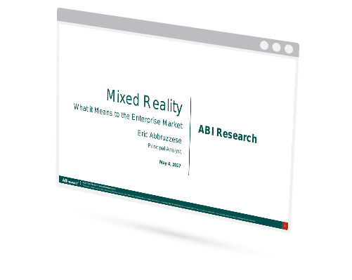 Webinar: Mixed Reality - What it Means to the Enterprise Market Image