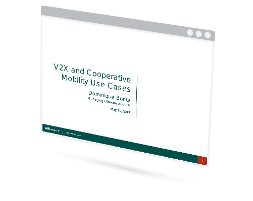 V2X and Cooperative Mobility Use Cases Image