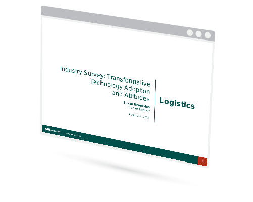 Industry Survey: Transformative Technology Adoption and Attitudes – Logistics Image