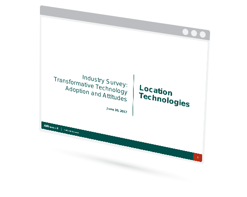 Industry Survey: Transformative Technology Adoption and Attitudes - Location Technologies Image