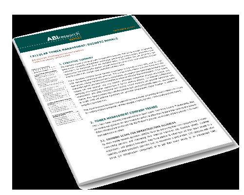 Cellular Tower Management:Business Models Image