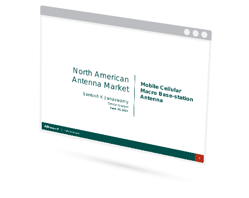 North American Antenna Market - Mobile Cellular Macro Base-station Antenna Image