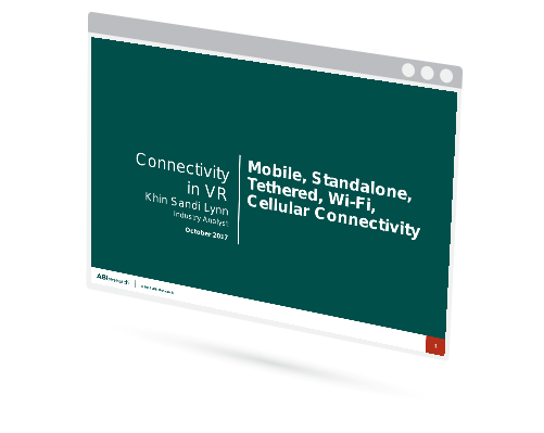 Connectivity in VR: Mobile, Standalone, Tethered, Wi-Fi, Cellular Connectivity Image