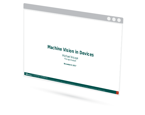 Machine Vision in Devices