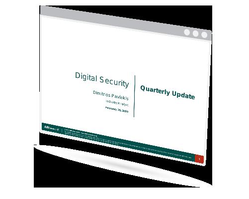 Digital Security Quarterly Update Image