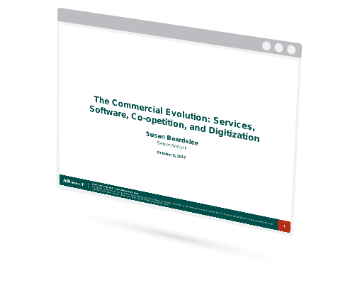 The Commercial Evolution: Services, Software, Co-opetition, and Digitization Image