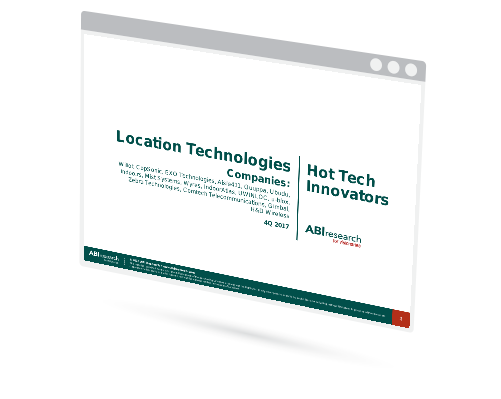 Hot Tech Innovators - Location Technologies Image