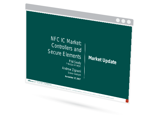 NFC IC Market: Controllers & Secure Elements Image