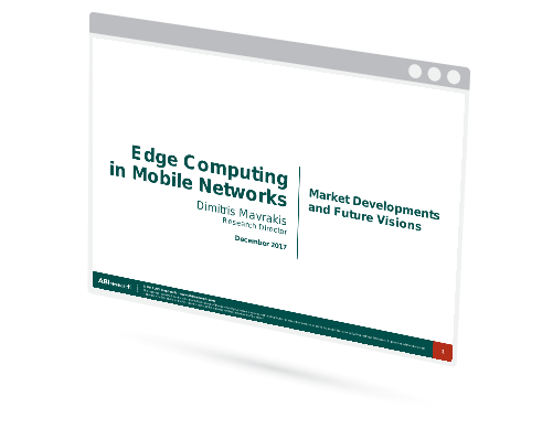 Edge Computing in Mobile Networks: Market Developments and Future Visions Image