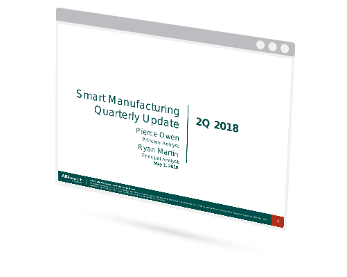 Smart Manufacturing Quarterly Update Image