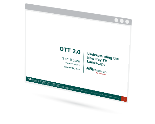 OTT 2.0: Understanding the new Pay TV Landscape Image