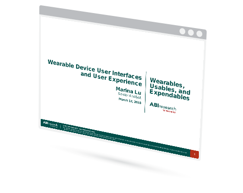 Wearable Device User Interface and User Experience Image