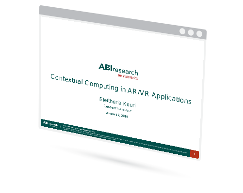 Contextual Computing in AR/VR Applications Image