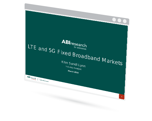 LTE and 5G Fixed Broadband Markets Image