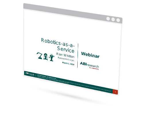 Webinar: Robotics as a Service is the Key to Unlocking the Next Phase of Market Development Image
