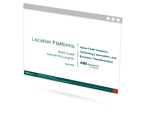 Webinar: Location Platforms, Value Chain Analysis, Technology Innovation, and Business Transformation Image