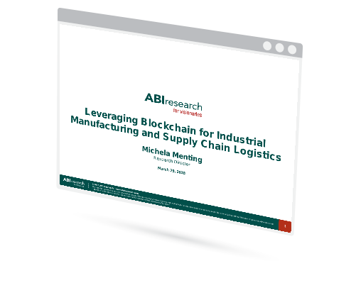 Webinar: Leveraging Blockchain for Industrial Manufacturing and Supply Chain Logistics Image