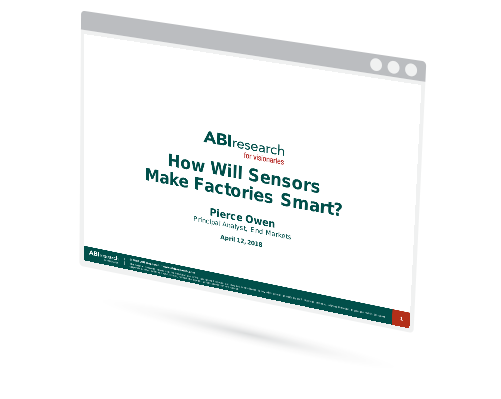 Webinar: How will Sensors Make Factories Smart? Image