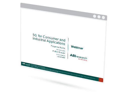 Webinar: 5G for Consumer and Industrial Applications Image