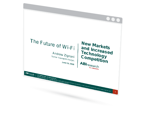 Webinar: The Future of Wi-Fi – New Markets and Increased Technology Competition Image
