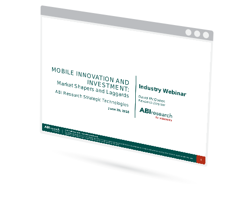 Webinar: Mobile Innovation and Investment – Market Shapers and Laggards Image