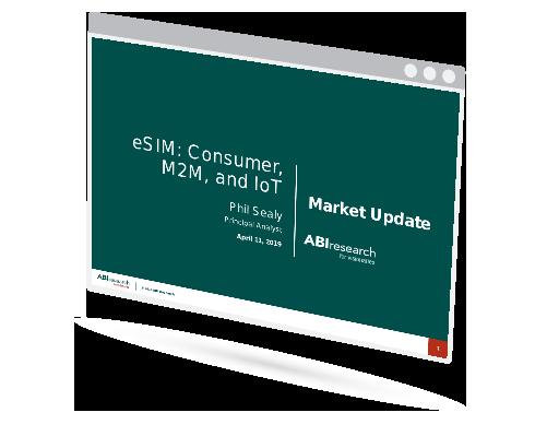 eSIM: Consumer, M2M, and IoT Market Update Image