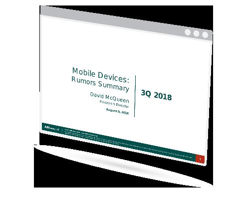 Mobile Device Rumors Report- 3Q 2018 Image