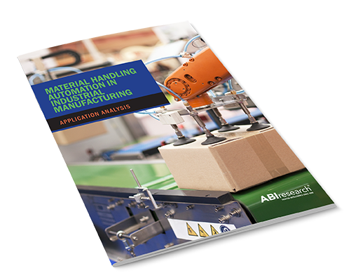 Material Handling Automation in Industrial Manufacturing Image