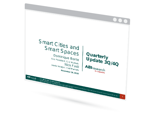 Smart Cities and Spaces Quarterly Update 4Q 2018 Image