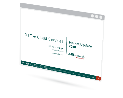 OTT and Multiscreen Market Update 2018 Image