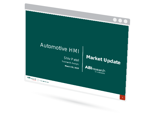 Automotive HMI Market Update Image