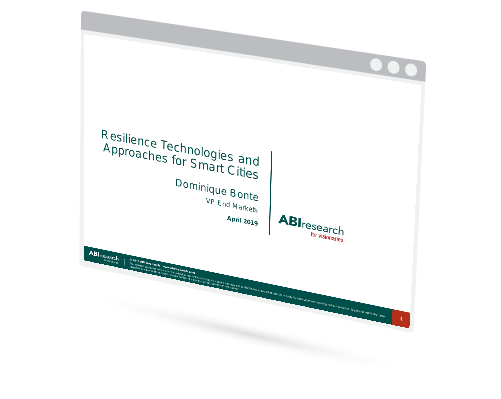 Resilience Technologies and Approaches for Smart Cities Image