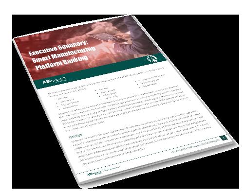 Executive Summary: Smart Manufacturing Platform Ranking Image