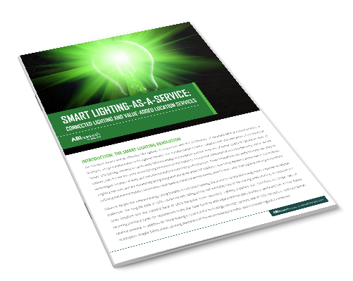 Smart Lighting-As-A-Service: Connected Lighting and Value-Added Location Services Image