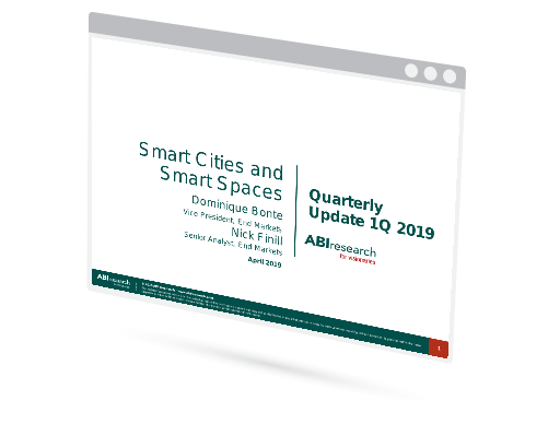 Smart Cities and Spaces Quarterly Update 1Q 2019 Image