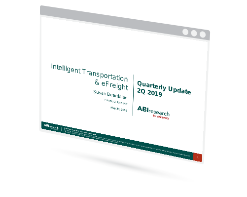 Intelligent Transportation & eFreight -- Quarterly Update Image