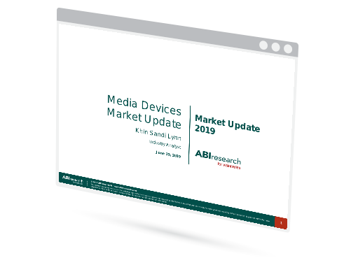 Media Devices Market Update 2019 Image